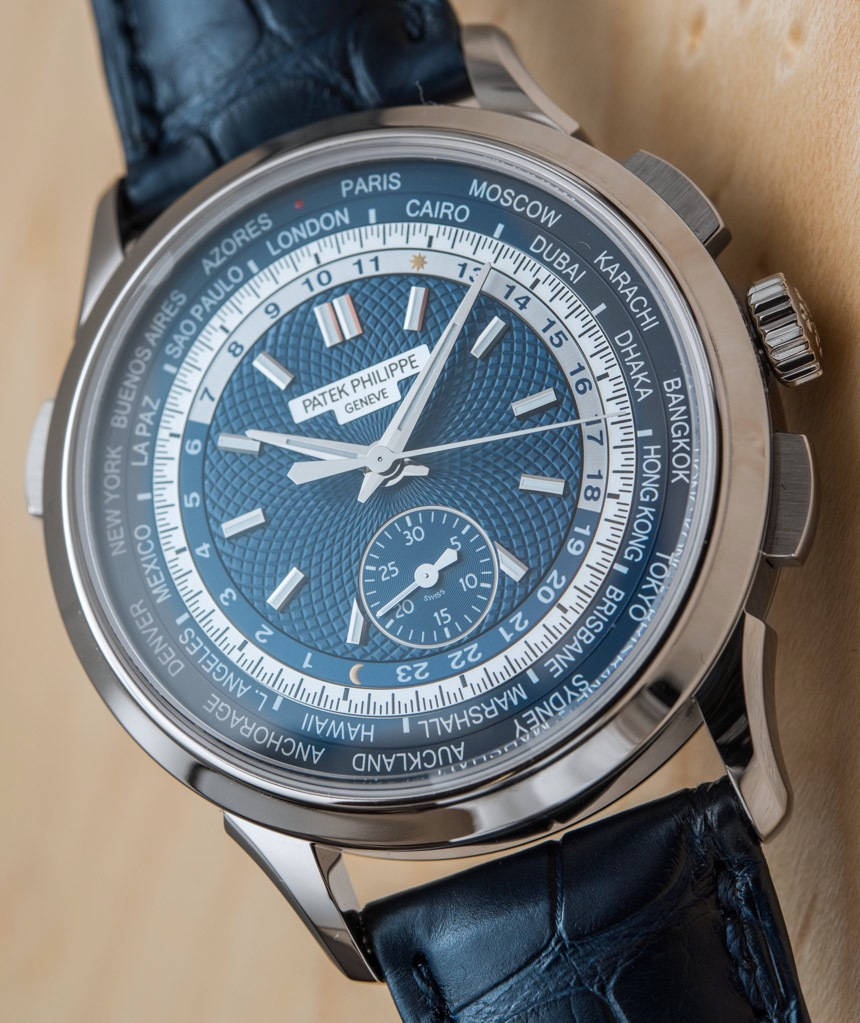 Replique Patek Philippe 5930G Chronograph World Time 2016