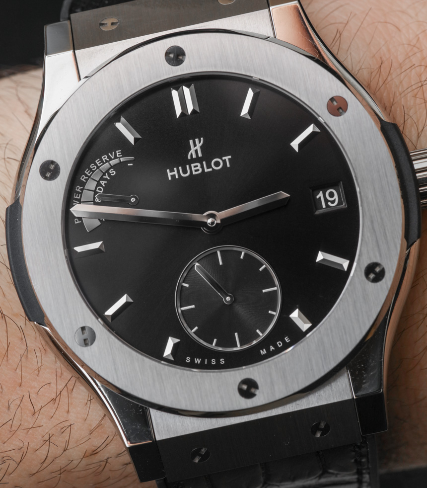 Replique Hublot Classic Fusion Power Reserve Titanium