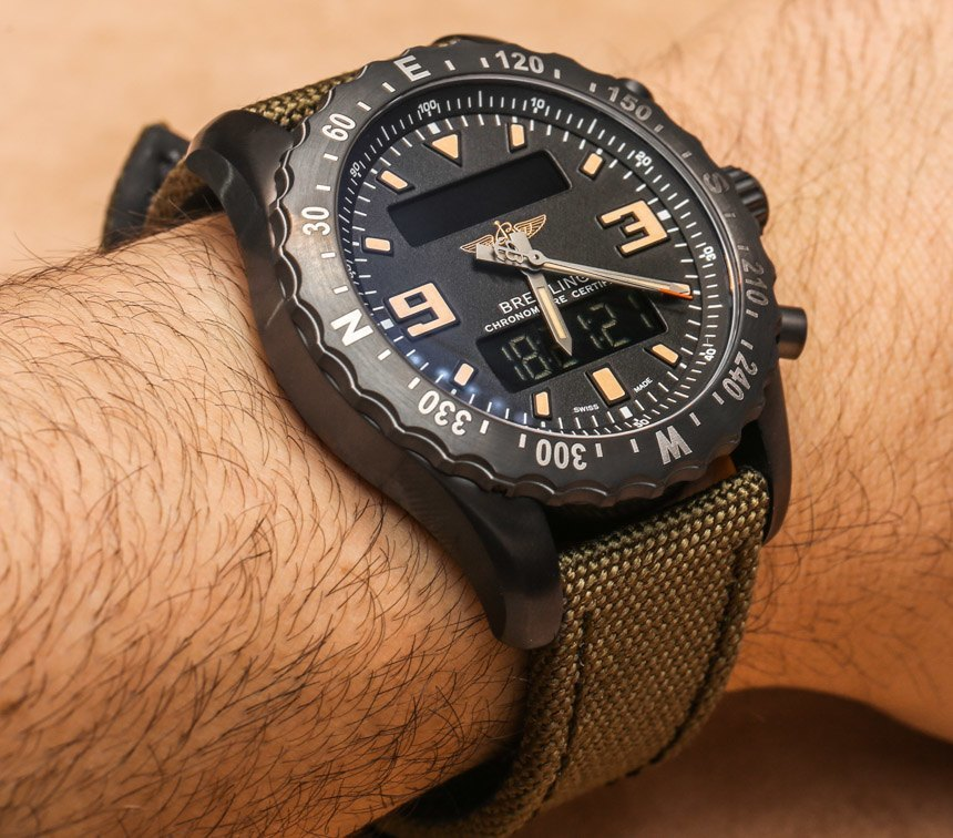 Noir-Breitling-Chronospace-Military-Replique-4
