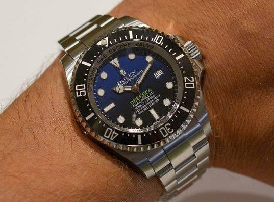 Copie Rolex Sea Dweller Cadran Noir Lunette
