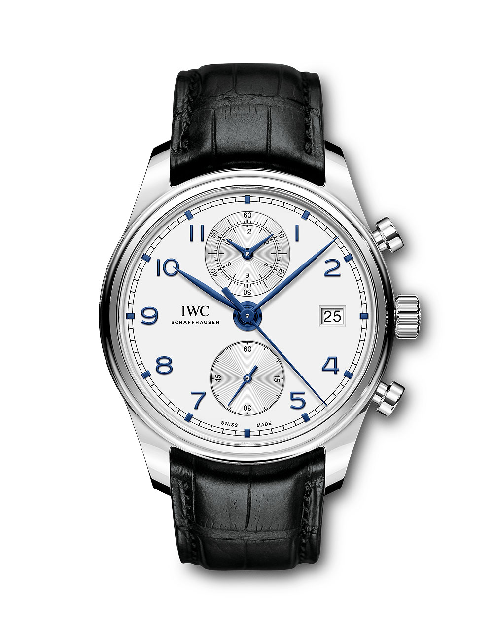 IWC Portugieser Chronograph Classic Cadran Blanc