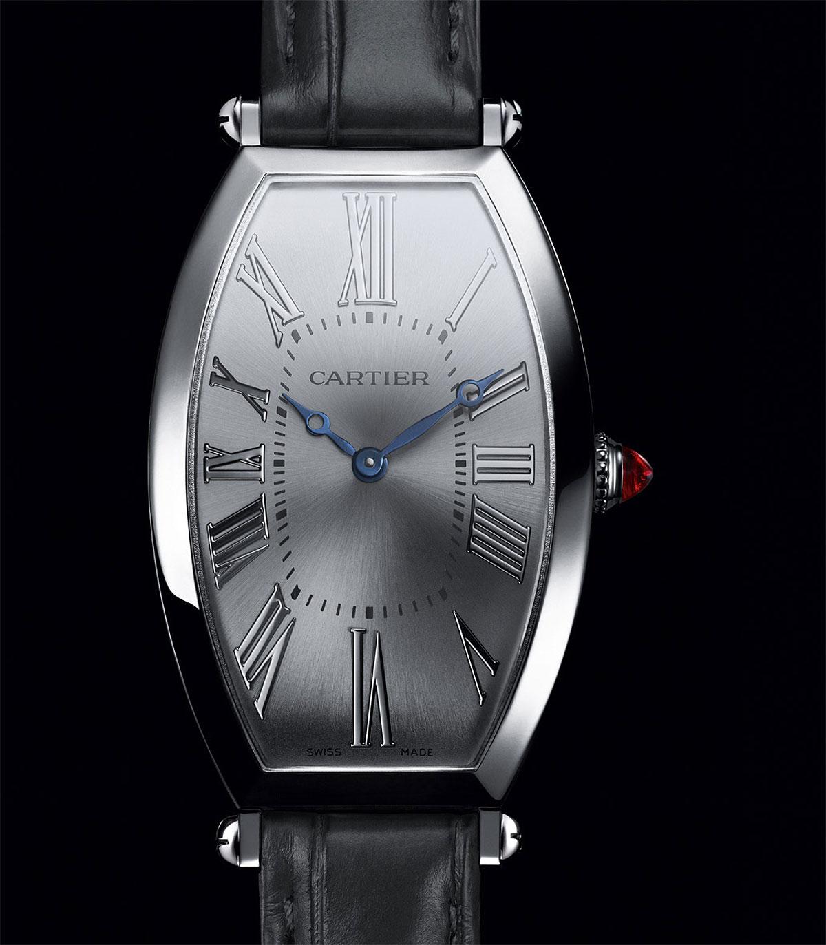 Cartier Prive Tonneau Platine