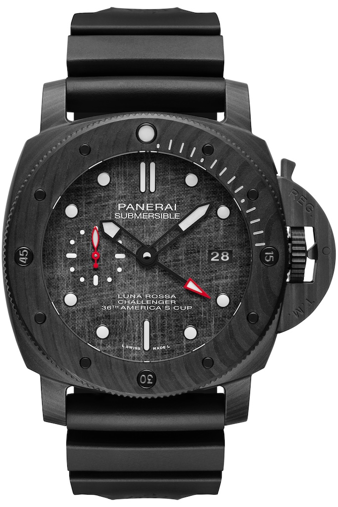 Réplique Submersible PAM01039 Luna Rossa Carbotech